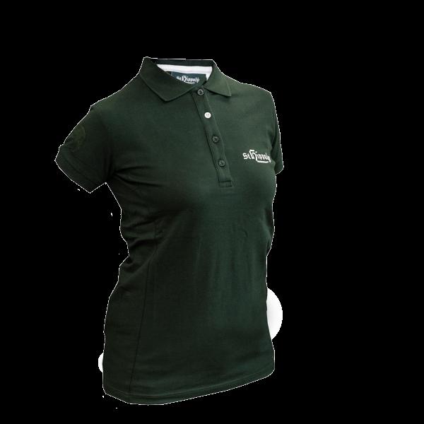 St. Hippolyt Polo Shirt Damen Gr. XXL grün