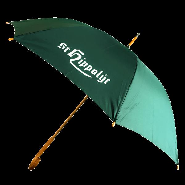 St. Hippolyt Regenschirm grün